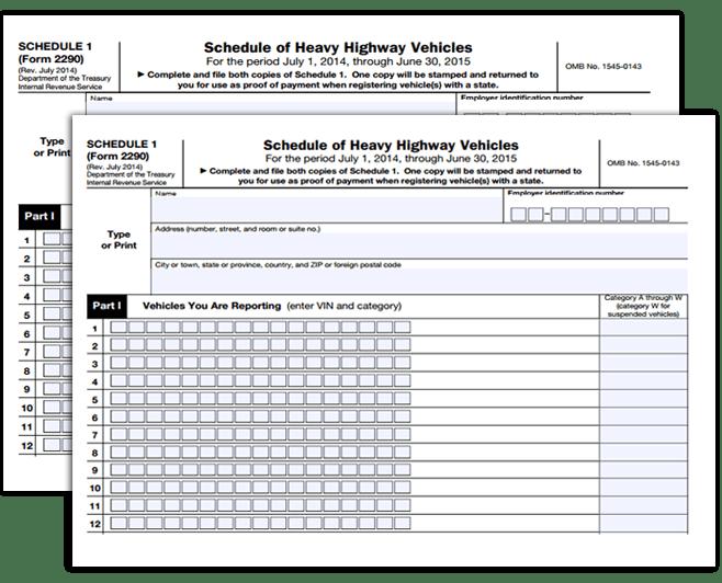 File Tax 2290 File 2290 Online 2290 Tax Form